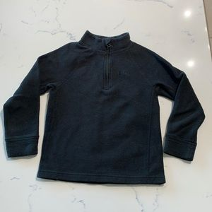 REI Co-op Fleece Zip Neck Toddler Black Sz4T
